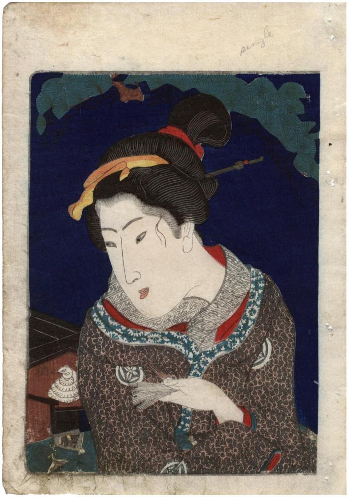 <i<Abuna-e shunga</i> frontispiece portrait bust